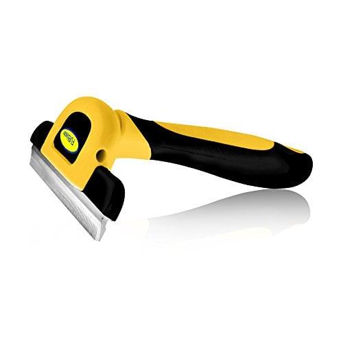 Fellpflege-Werkzeug & Fellpflege-Gerät Für kleine, mittelgroße und große Hunde und Katzen mit kurzem oder langem Fell. Reduziert Haarausfall drastisch in nur wenigen Minuten
