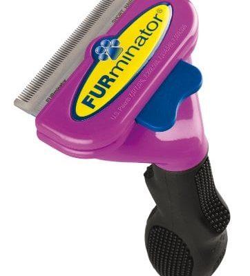 FURminator-deShedding-Pflegewerkzeug-fr-kurzhaarige-groe-Katzen-ber-45-kg-Gre-L-0