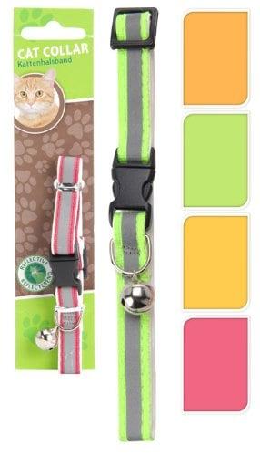 Katzenhalsband reflektierend, Halsband für die Katze, farblich sortiert