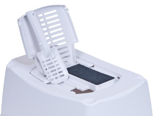 Sondermodell Set-Angebot: Katzentoilette + XL Jumbo Streuschaufel + 2 Näpfe