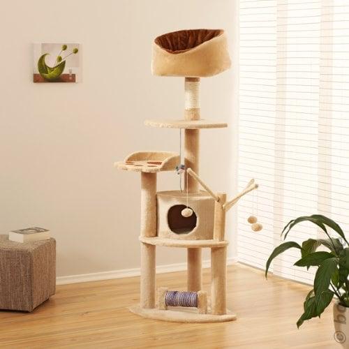 kratzbaum robby creme 151cm ich liebe katzen. Black Bedroom Furniture Sets. Home Design Ideas