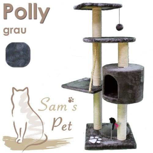 Sam´s Pet Kratzbaum Polly - Höhe: 113 cm - grau