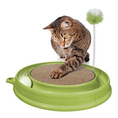 catit-51096-Katzenspielzeug-Play-n-Scratch-mit-Katzenminze-grn-0